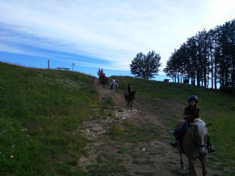 Escursione a cavallo - Cooperativa 100 Laghi 02