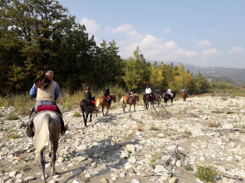Escursione a cavallo - Cooperativa 100 Laghi 05