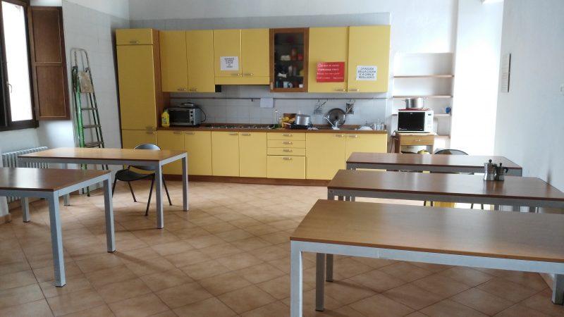 Ostello Castello di Corniglio, cucina - Cooperativa 100 Laghi 01