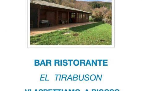 El Tirabuson, Bar e Ristorante gestito dalla Cooperativa 100 Laghi di Corniglio - Locandina