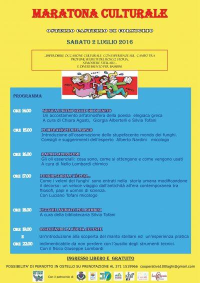 Maratona Culturale, evento organizzato dalla Cooperativa 100 Laghi, Corniglio - 02